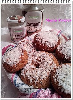 Virgin Oil, Coconut Sugar, Doughnut, Sweets, Desserts, Food, Tailgate Desserts, Deserts, Gummi Candy