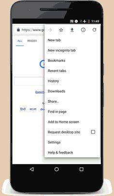 Google Chrome en Android con nueva función de ahorro de datos móviles #Google #chrome #DatosMóviles