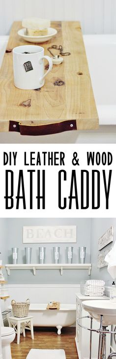 DIY Leather and Wood