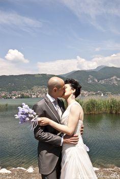 Giuseppe <3 Francesca  e il Lago d'Iseo a far da cornice.