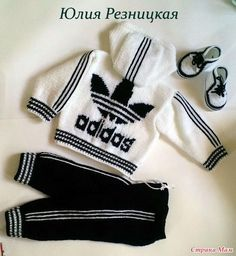Diy Crafts - socken,suit-Suit and socks (d) 19 * 160 BDF, anzug socken Suit and socks (d) 19 * 160 BDF, suit socken Always wanted to discover ways Baby Knitting Patterns, Baby Patterns, Crochet Baby Sweaters, Crochet Baby Clothes, Crochet For Boys, Knitting For Kids, Kids Robes, Pull Bebe, Crochet Jacket