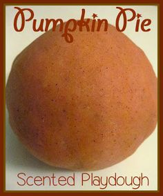 Pumpkin Pie scented playdough from Where Imagination Grows