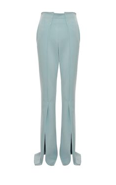 Flared Hem Trousers by GENNY for Preorder on Moda Operandi