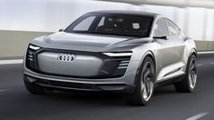 Audi reveals E-Tron Sportback, capable of reaching in just seconds and a range of 310 miles. Audi E-tron Sportback concept, presented at the Shanghai… A5 Sportback, Electric Car Concept, Electric Cars, Electric Vehicle, Shanghai, Audi A5, New Audi Car, Volkswagen, Crossover Suv