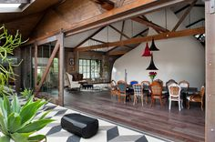 Allen Jack+Cottier Turn an Old Warehouse Into a Quirky Private Residence.