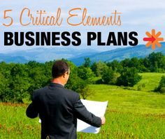 5 critical elements included in a good photography business plan (via Photography Spark)