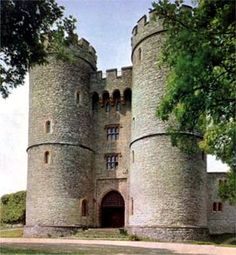 Saltwood Castle is a castle in Saltwood village—which derives its name from the castle—1 mile north of Hythe, Kent, England. The castle is known as the site where the plot was hatched to assassinate Thomas Becket.