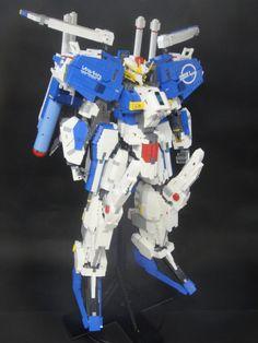 MASTERPIECE: LEGO 1/40 Ex-s Gundam. Created by jan_utyo