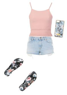 """""""Untitled #126"""" by zetapicard on Polyvore featuring Rip Curl, Topshop and Pilot"""