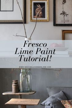 Lime Fresco Paint