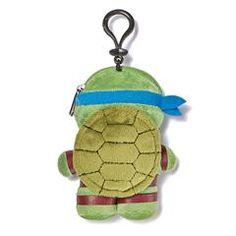 Avon Living Teenage Mutant Ninja Turtles Plush Bag Clip with Pouch