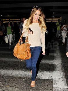 Lauren Conrad returned from NYC.