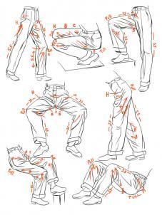 how to sketch anime clothes step 12