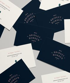 Business cards for B