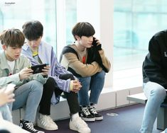 Yedam, Doyoung and Hyunsuk at Incheon Airport Yg Entertainment, Fandom, Yoshi, Hyun Suk, Falling In Love With Him, Treasure Boxes, Going Crazy, Boy Groups, Memories