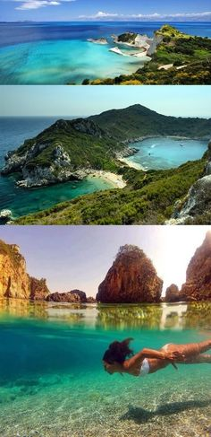 Corfu Island, Greece, just wait for me, we are going to meet in june