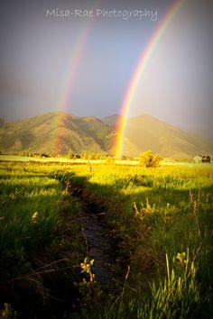 Montana Double Rainbow