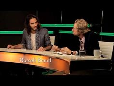 Russell Brand is quickly becoming one of my favorite people! Gaiam TV Mind Shift with Russell Brand and Eve Ensler