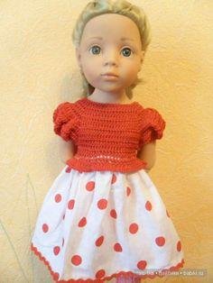 Уроки вязания крючком. Вяжем для Гётц . / Мастер-классы, творческая мастерская: уроки, схемы, выкройки кукол, своими руками / Бэйбики. Куклы фото. Одежда для кукол