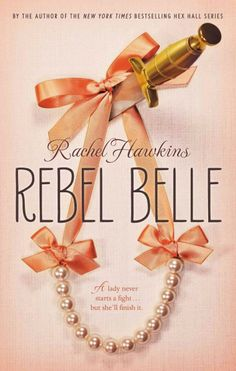 Rebel Belle by Rachel Hawkins. In this new series opener, Harper Jane Price (after a particularly grueling encounter in the girls' bathroom) finds out she is now sworn to protect her archnemesis from kindergarten, David Stark. This book is basically Legally Blonde & the Terminator, mixed up into one glorious, frothy fun read. Recommended for grades 6&up.
