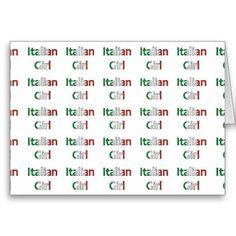 "FOR YOUR ""ITALIAN GIRL"" ON HER BIRTHDAY"
