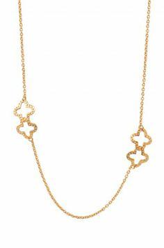Stella & Dot Signature Clover Necklace