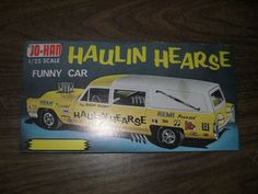 "Jo-Han models ""Haulin' Hearse"""