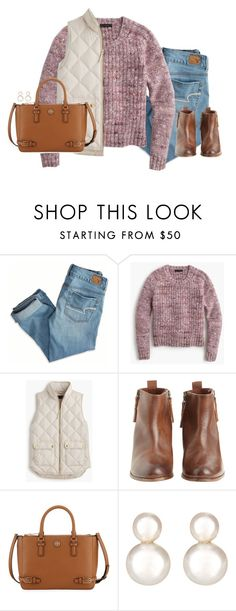 """""""no more white picket fences, no more lace veils or vows"""" by preppy-classy ❤ liked on Polyvore featuring American Eagle Outfitters, J.Crew, Hoss Intropia, Tory Burch and Grace Lee Designs"""