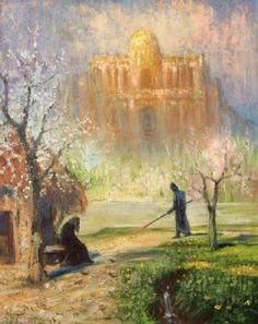 Hermann Hendrich, Saint Grail Legend, Klingsor's enchanted castle