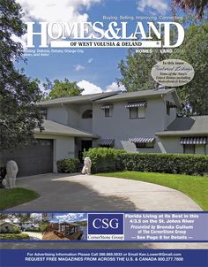 View the latest issue online of Homes & Land of West Volusia & Deland #homesandlandmagazine #realestate #homesforsale