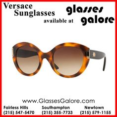 95862ae839b5  VersaceSunglasses – Available at Glasses Galore! When choosing your  frames