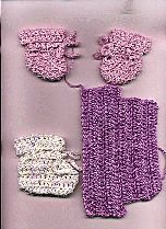 Free Crochet Pattern For Preemie Baby Booties : Preemies, Patterns and Newborns on Pinterest