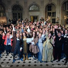 Versailles cast - it's nice to see their lives aren't really as tortured as in the show