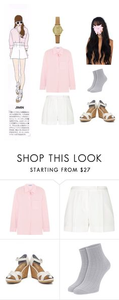 """""""BTS JIMIN ideal type😜"""" by adivazy on Polyvore featuring Prada, Elie Saab, TOMS and Emporio Armani"""