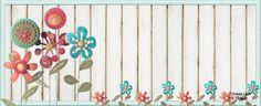 Violeta lilás Vintage: Cabeçalho cut com flores - grátis