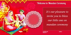 It is our pleasure to invite you to bless our grand daughter Mudra on her Mundan Ceremony on November at PM at Club House, Super Tech Eco Village 3 Noida Extension RSVP Mrs. Naming Ceremony Invitation, Invitation Card Sample, Wedding Invitation Vector, Online Invitations, Invitation Card Design, Invitation Wording, Invite, Holi Pictures, Bless The Child