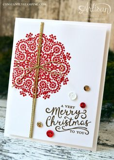 holiday card, Moroccan Nights, sequins