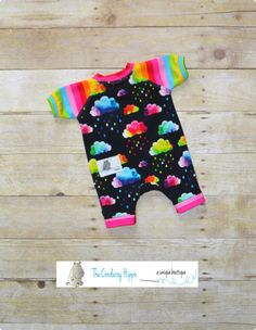 NB Raglan Shorts Romper Baby Raglan Romper NB by TheCorduroyHippo