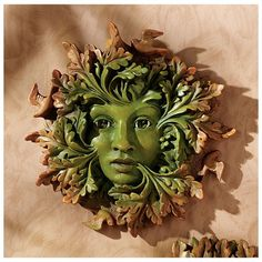 For my cottage/workshop/greenhouse that I will have someday - Greenman Sculptures - Garden Statues - Design Toscano