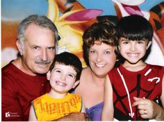 Family: I and my husband and our grandsons