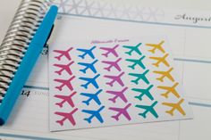 NEW Travel Planner Stickers perfect for Erin by AlternateForces