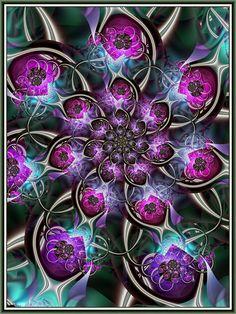Loopy fractal #fractals #fractalart #art