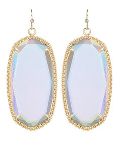 "Kendra Scott iridescent earrings!!!  My FAV!  Need these and the ""Rayne"" necklace to match!  :)"