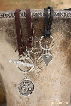 New Tutorials from Nunn Design using Deerskin Lace Leather.