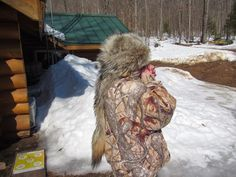 How to make a fur hat from a coyote pelt.