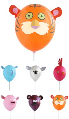 Airheads are kits of paper pieces with which you can turn a balloon into your favourite animal. Will raise a smile, as well as a 'why didn't I think of that' moment. Super nice. By Hector Serrano