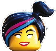 Descarga máscaras de la LEGO Película para disfrazar a tus hijos en carnaval