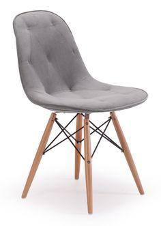 Pushpin Chair, Gray @Laura Mcfarlane & Georgia