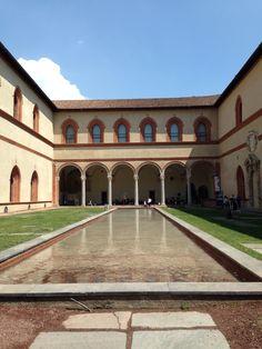 Castelo Sforzesco #italy