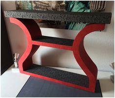 Comment habiller un meuble avec des techniques du cartonnage - LPB Carton Stool, Chair, Table, Furniture, Home Decor, Cartonnage, Objects, Stools, Interior Design